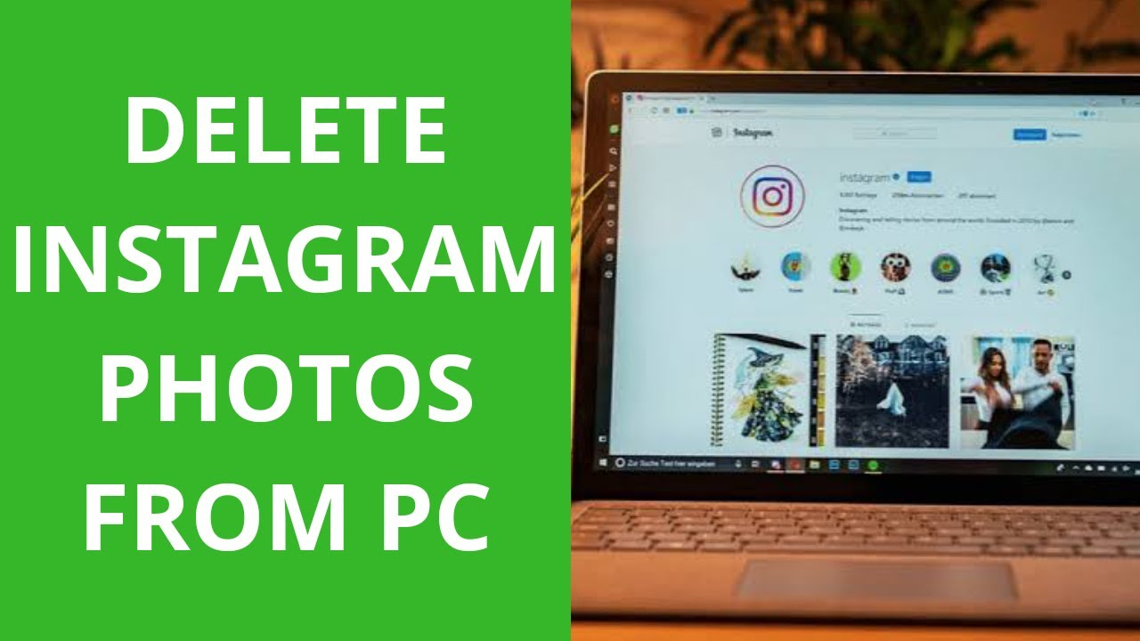 How to delete Instagram post from PC - w28Academy