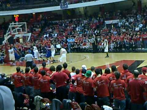 Northeastern University  Huskies vs Louisiana Tech Bulldogs Bracketbuster Basketball Game  2/20/2010