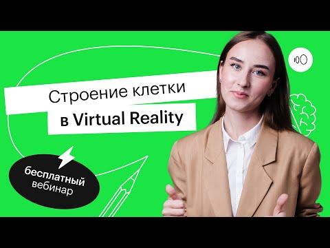 Строение клетки в Virtual Reality   ЕГЭ БИОЛОГИЯ 2022   СОТКА