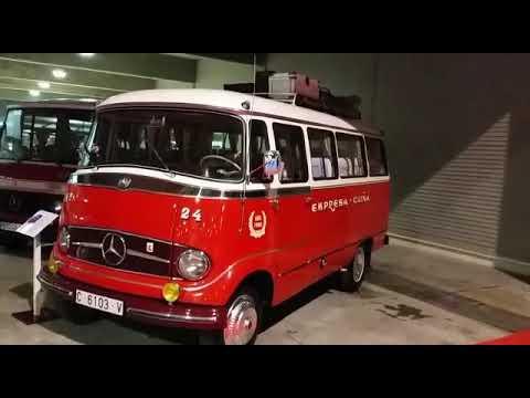 Así era eran los autobuses en el pasado