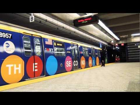 MTA Subways - Introducing the Second Avenue Subway