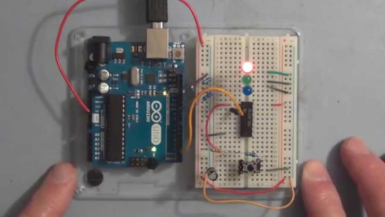 Arduino fading led interrupt sketch tutorial youtube