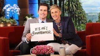 Matt bomer is on twitter!
