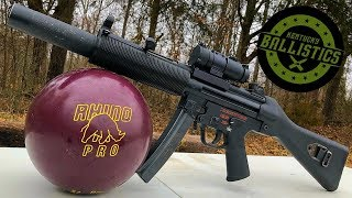 MP5 vs Bowling Ball (Full Auto Friday)