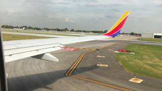 Southwest Airlines 737-700 Takeoff From Chicago Midway International Airport