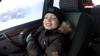 Как я развлекаюсь. Дрифт Mercedes-Benz W124 / Winter Drift Moments / Тест-Драйв by Dima