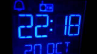 Alan Robson sings on metro radio