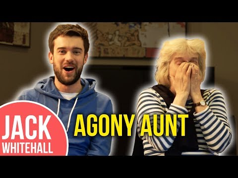 Jack Whitehall & His Mum Reply To YOUR Tweets!!  Agony Aunt