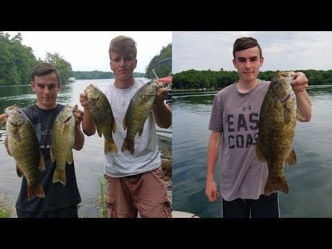 Smallmouth Smackdown On The St. Lawrence River (Thousand Islands New York) - New Personal Best