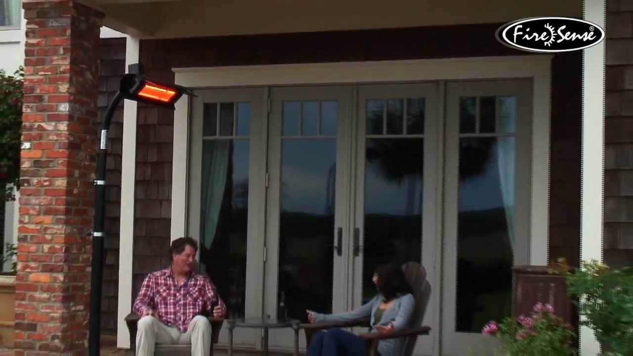 Electric Infrared Outdoor Heater   Learn How It Works.