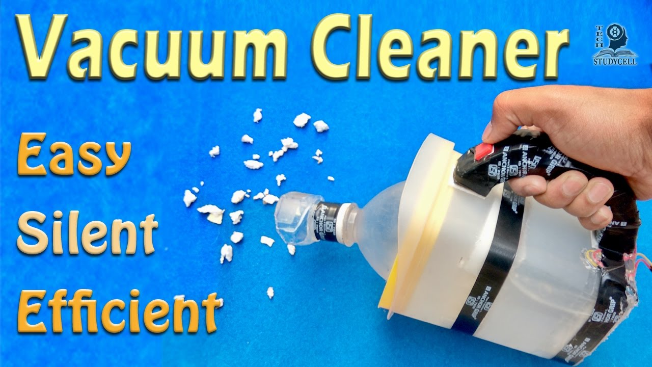 How To Make A Vacuum Cleaner Diy Science Project Youtube