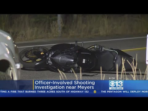 Motorcyclist Dies After Trading Gunfire In El Dorado County Pursuit