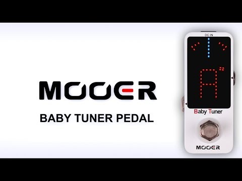 Mooer Baby Tuner pedal DEMO