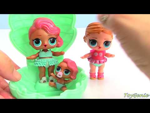 LOL Pearl Surprise Limited Edition Fizz Shell Toy Video