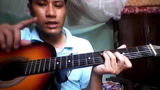 Hướng tự học guitar NHỎ ƠI -  Chí Tài(intro đầu + đệm hát +intro cuối)