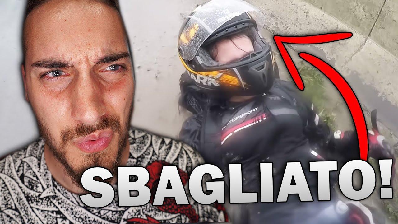 SALVA LA FIDANZATA CADENDO DALLA MOTO - Spavald Late MOTORShow