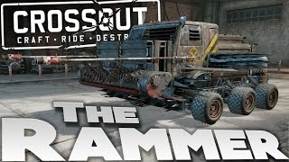 Crossout Beta Gameplay - HUGE RAMMING VEHICLE BUILD - CrossOut High Tier Gameplay
