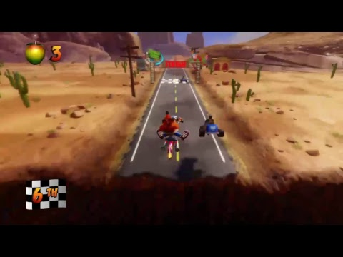 Crash bandicoot N-Sane trilogy gameplay  walkthrough ps4 ultra hard how to beat ? PART 6