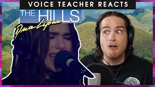 Voice teacher reacts to Dua Lipa covering The Weeknds The Hills YouTube Videos