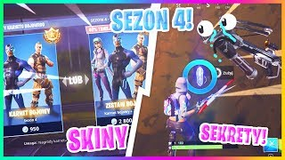 SEASON 4! SKINS + CHANGES + FREE PSC-Fortnite Battle Royale