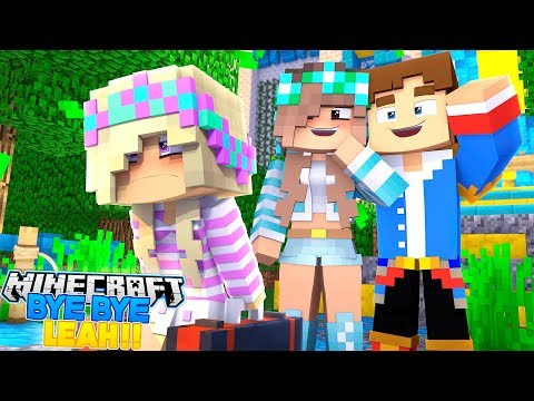 Minecraft - DONNY'S GIRLFRIEND KICKS BABY LEAH OUT OF HER HOME!! Donny & Leah Adventures.