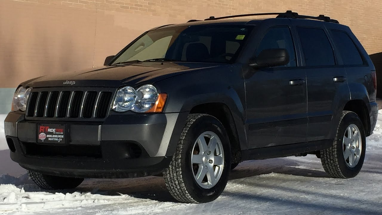 2008 jeep grand cherokee laredo 4wd alloy wheels automatic for sale in winnipeg mb youtube. Black Bedroom Furniture Sets. Home Design Ideas