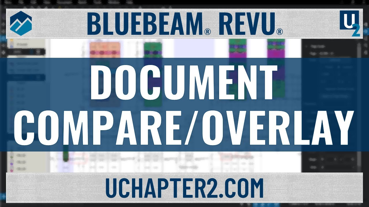 Bluebeam Document Compare Overlay Amp Tip Youtube