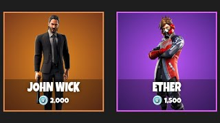 *NEW* VERSA & ETHER SKINS IN FORTNITE!