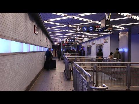 NYC Subway: The New Fulton Street Station