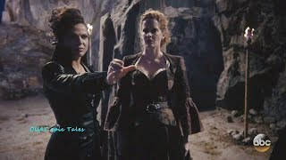 Once Upon A Time 7x10 Regina Zelena Hook in Witch Fight - Henry Poisoned   Season 7 Episode 10