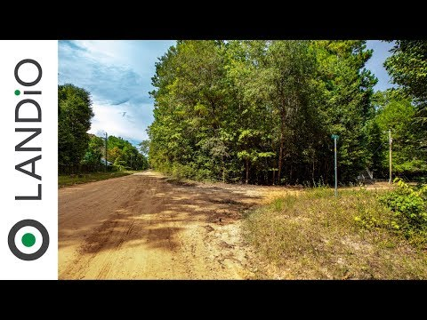 SOLD By LANDiO • Land For Sale In Texas • Wooded Corner Lot With Utilities