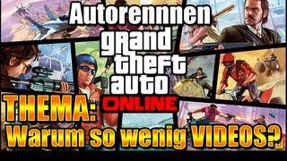 INFOVIDEO: So wenig VIDEOS! | GTA Online - Rennen