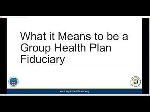 DOL Presents Group Health Plan Compliance