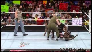 John Cena Attacks Wyatt Family Raw 31 March 2014