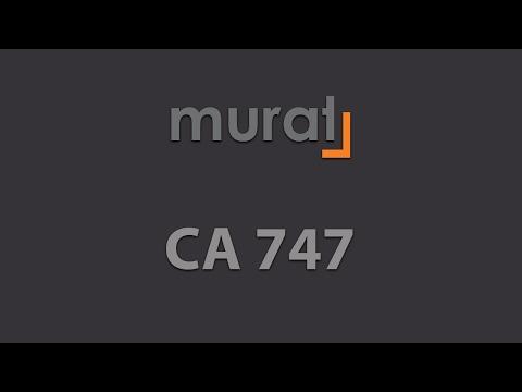 CA 747 Corner Cleaning Machines | Murat Machine