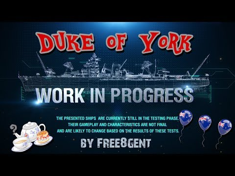 World of Warships [deutsch] –  Duke of York | Work in Progress