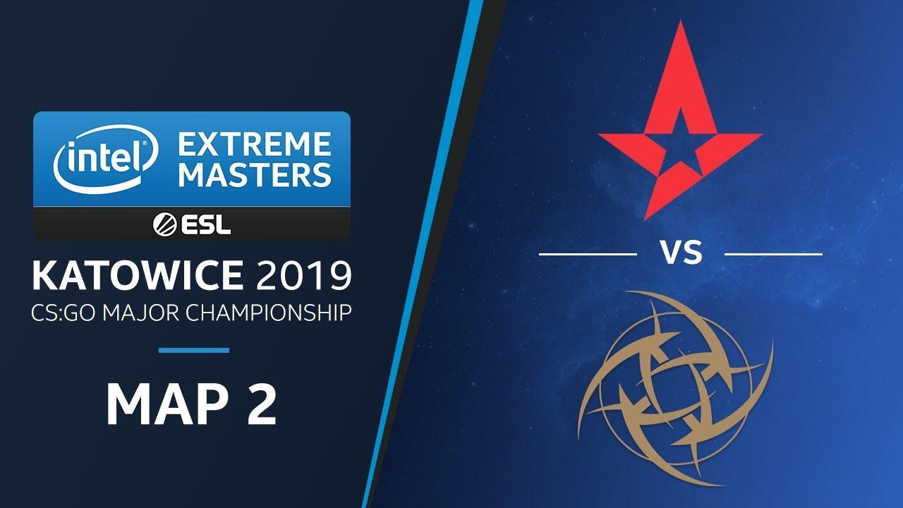 CS:GO - Astralis vs. NiP [Dust2] Map 2 - Quarterfinals - Champions Stage - IEM Katowice 2019