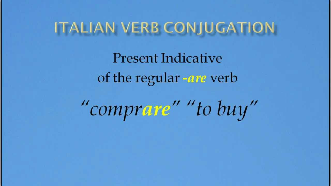 how to say buy in italian