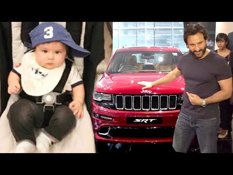 Saif Ali Khan's Expensive Gift For Taimur...