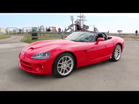 2003 dodge viper srt 10 convertible for sale low miles priced to sell fast youtube. Black Bedroom Furniture Sets. Home Design Ideas