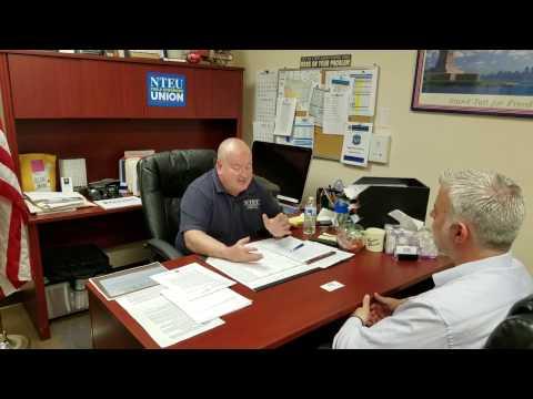 Interview John Monahan  Union Pres. Union Meet & Phone App 050117