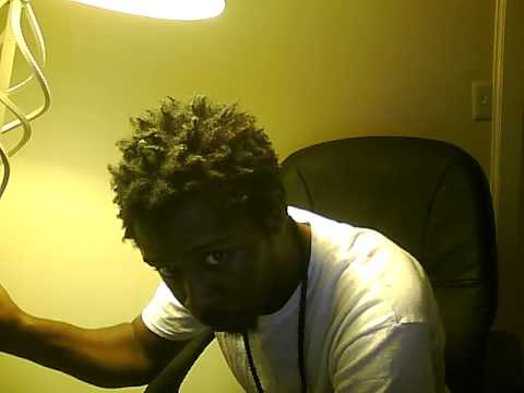 Free form dreads video neglect/towel rub method dreads 10 days