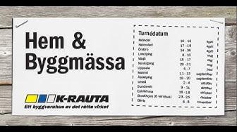K-rauta - Hem & Byggmässa 2015