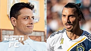 Chicharito not in the same stratosphere as Zlatan Ibrahimovic - Craig Burley | Major League Soccer