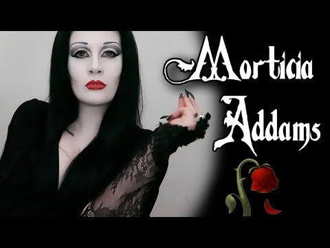 how to be morticia addams