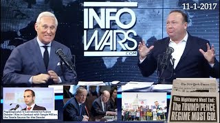 Roger Stone Latest News and Current Events November 1st, 2017