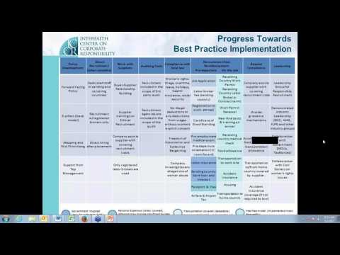 Best Practices in Ethical Recruitment of Migrant Workers webinar