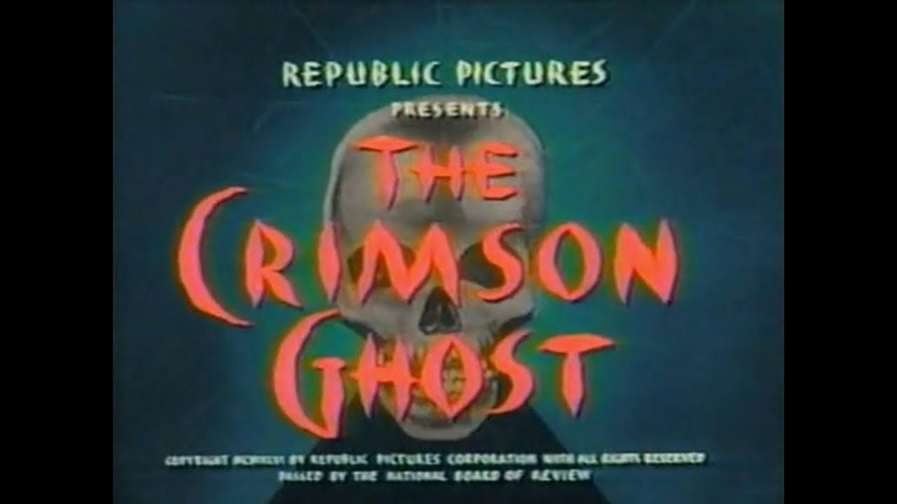 Download The Crimson Ghost (1946) Full Movie Colorized