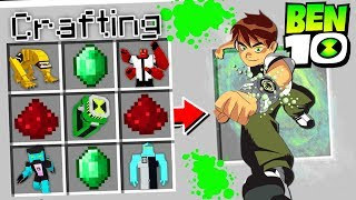 CRAFTING BEN 10 IN MINECRAFT!
