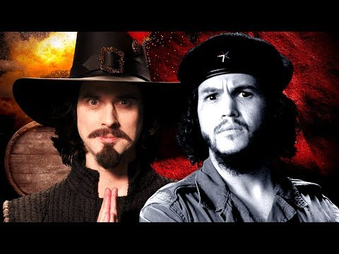 Guy Fawkes vs Che Guevara. Epic Rap Battles of History.